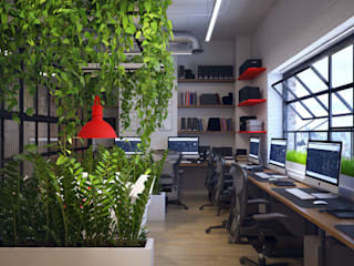 Office buildings by Natalia Solo Design