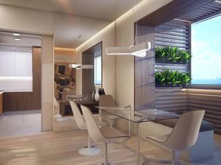 غرفة السفرة تنفيذ Natalia Solo Design