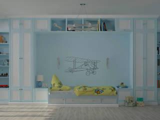 Chambre d'enfant de style  par Студия дизайна Дарьи Одарюк,