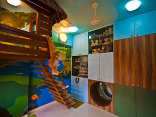 eclectic Nursery/kid's room by iSTUDIO Architecture