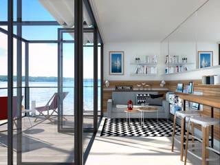 Mini Mobile Home - Nordic holiday Innenarchitektur | Ina Nimmrichter Skandinavische Wohnzimmer