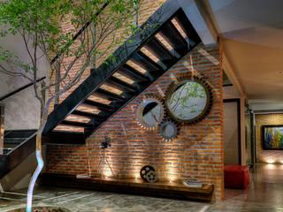 Con Contenedores S.A. de C.V. Industrial corridor, hallway & stairs