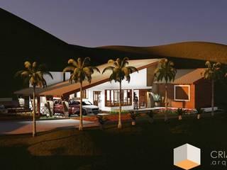 Cria Canto Arquitetura Rumah Gaya Kolonial