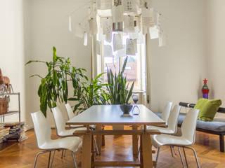 Oficinas de estilo ecléctico de Boite Maison Ecléctico