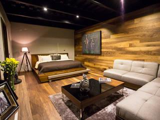 Projekty,  Sypialnia zaprojektowane przez Con Contenedores S.A. de C.V.