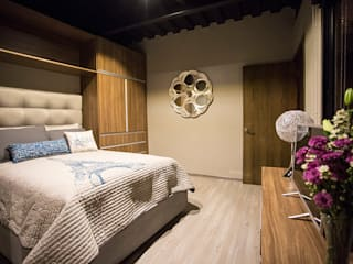 Casa Bunker Dormitorios modernos de Con Contenedores S.A. de C.V. Moderno