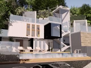 Trabalho Final de Graduação: Casas  por Arquitetura Pâmela Caminski