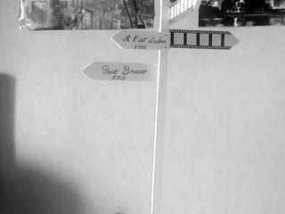 panneaux de direction: Salon de style de style eclectique par amour de palette création