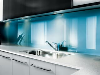 Lustrolite High Gloss Acrylic Wall Panels The London Tile Co. Paredes y pisosRevestimientos de paredes y pisos Azul