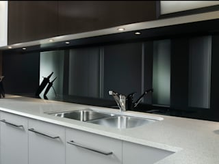 Lustrolite High Gloss Acrylic Wall Panels The London Tile Co. Paredes y pisosRevestimientos de paredes y pisos Negro