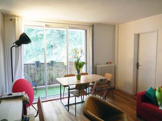 Appartement P Salle à manger minimaliste par Agence 1+1 Minimaliste
