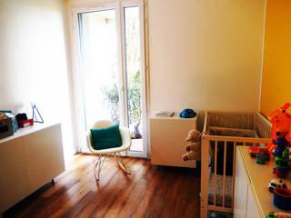 Appartement P Chambre d'enfant minimaliste par Agence 1+1 Minimaliste