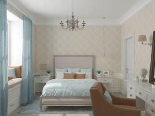 Bedroom by Студия дизайна Дарьи Одарюк