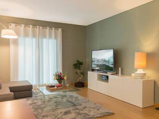 Lezírias House Salas de estar modernas por Twelve Four Haus Moderno