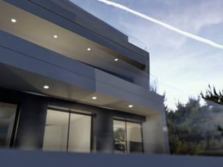 Vivienda unifamiliar de alta eficiencia energética en Sitges: Casas de estilo  de SgARQ