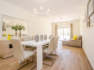 Turn Key Project - Apartment in Albufeira: Sala de jantar  por Simple Taste Interiors