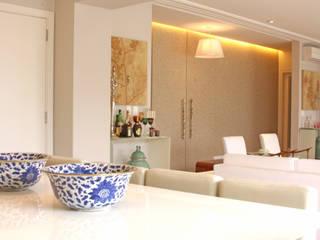 Apartamento Vila Nova Conceição :   por Arquitetura Juliana Fabrizzi