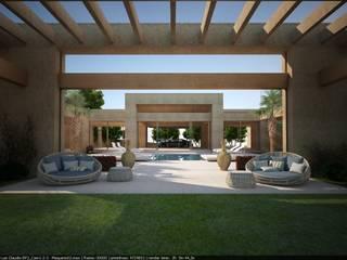 Jardines modernos: Ideas, imágenes y decoración de Lanza Arquitetos Moderno