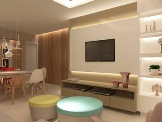 THEROOM ARQUITETURA E DESIGN Living room