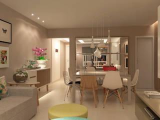 THEROOM ARQUITETURA E DESIGN Modern dining room