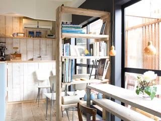 ふたりの夢をのせてこぎだすカフェ: 株式会社スタイル工房が手掛けたです。
