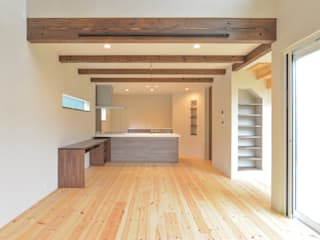 OARK一級建築士事務所 Modern living room
