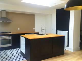 3B Architecture Modern kitchen Wood Black