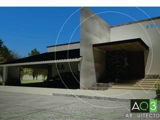 Residencia Rodriguez: Casas de estilo  por AQ3 Arquitectos