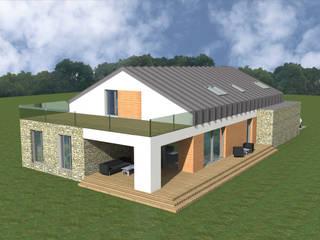 Dom jednorodzinny w Pruszkowie od BER & architekt Pracownia Projektowa