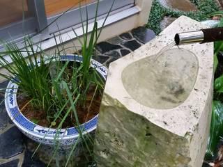 艸木/SOUMOKU Jardines de estilo ecléctico Piedra Azul