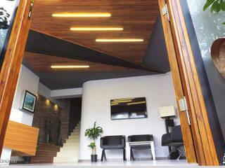 Estudios y despachos de estilo moderno de Emre Urasoğlu İç Mimarlık Tasarım Ltd.Şti. Moderno