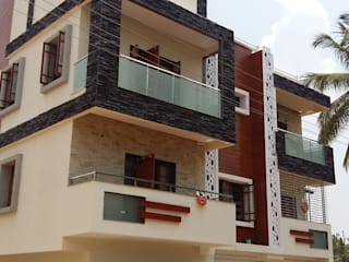 Residence at Bangalore Modern houses by Cutting Edge Architects Modern