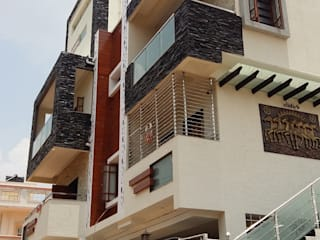 Residence at Bangalore:  Houses by Cutting Edge Architects