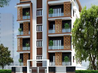 """""""Amigo Feliz """" Modern houses by Cutting Edge Architects Modern"""