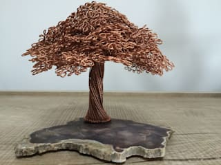 SEBU – Ağaç Fosilli SEBU: minimalist tarz , Minimalist