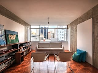 reforma n.a. Salas de estar modernas por Pianca + Urano Moderno