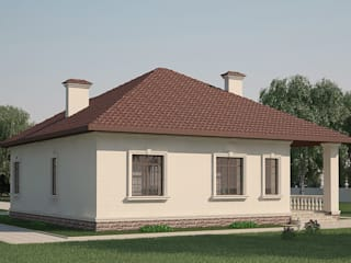 Вид №3: Дома в . Автор – ARH-FOR ИНТЕРНЕТ ПОРТАЛ ПРОЕКТОВ