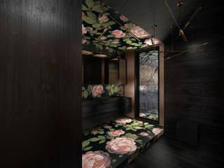 Bathroom by BAJOR&ORLIKOWSKA PRACOWANIA ARCHITEKTURY WNĘTRZ,