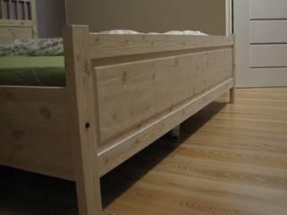 Łóżka od Stolarstwo Art Skandynawski