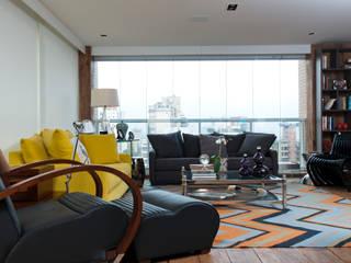 Ana Bartira Arquitetura de Interiores e Hotelaria: Terraços  por Ana Bartira Brancante  Arquitetura de Interiores e Hotelaria ,Moderno