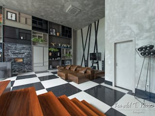 Salon moderne par Ronald T. Pimentel Fotografia Moderne