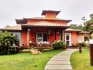Jardines de estilo  por Aroeira Arquitetura, Tropical
