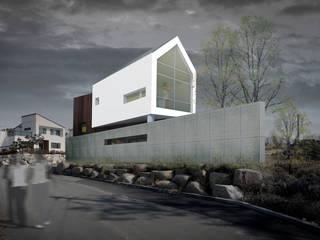 ที่เรียบง่าย  โดย 민 아키텍츠 건축사사무소, มินิมัล