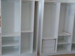 Cooperativa de la madera 'Ntra Sra de Gracia' VestidoresAlmacenamiento Aglomerado Blanco