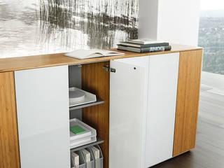 eRange Aktenschrank  Detail: moderne Arbeitszimmer von Büromöbel-Experte