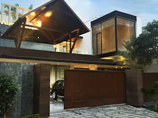 bedi residence Modern houses by 23DC Architects Modern