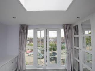 Big doors overlooking the garden Modern Windows and Doors by The Market Design & Build Modern