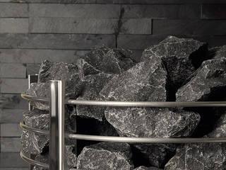 Saunaofen Bereich mit Schieferplatten:   von Relagio.de