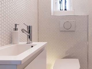 trend group Bagno moderno Piastrelle Bianco