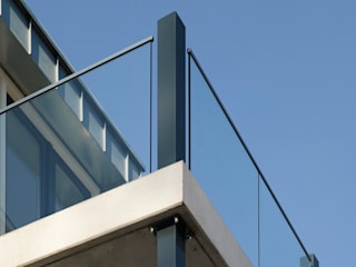 EeStairs | Stairs and balustrades Modern office buildings Glass Transparent